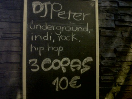 Republik Dj Peter 3 Copas 10 Euro