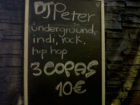 Republik Dj Peter 3 Copas 10 Euro