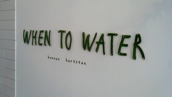 Keenan Hartsten - When To Water