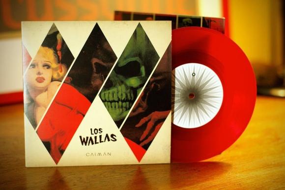 Los Wallas - Sleeve and Logo Design