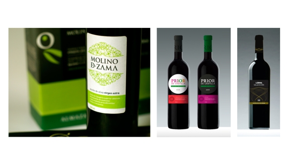 Wine and Oil Packaging Design